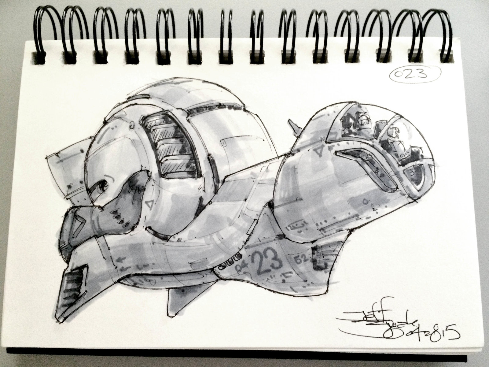 SpaceshipADay 023
