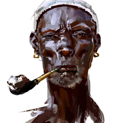 Kobe sek lunchtimestudy africanface