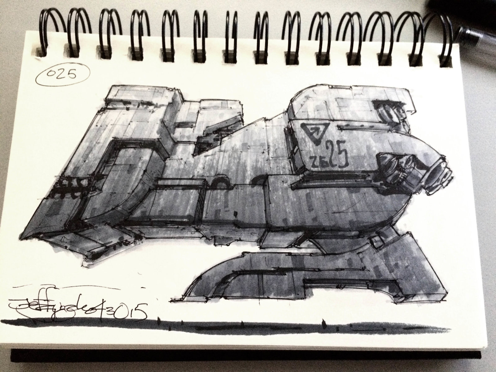 SpaceshipADay 025