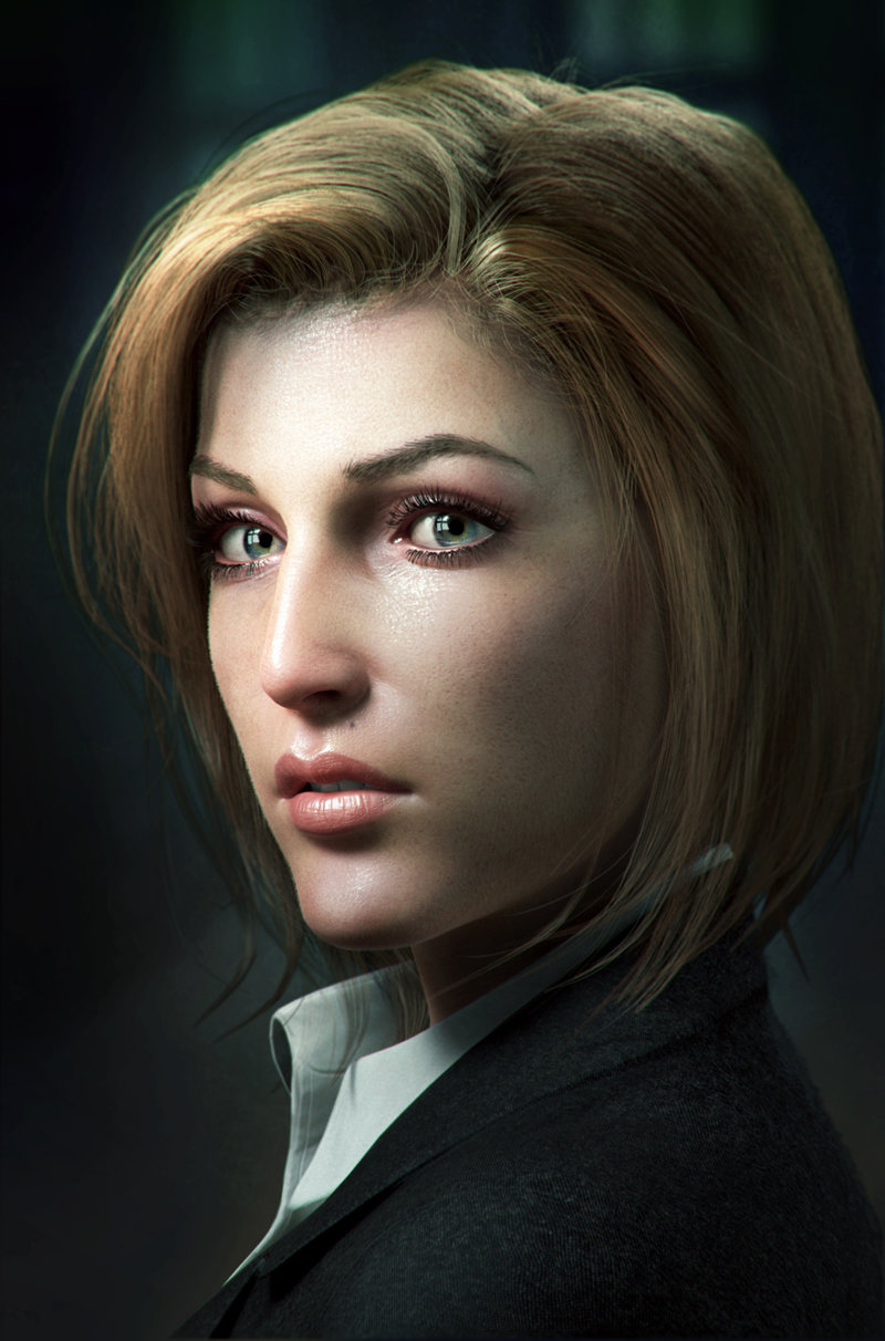 Scully Fan Art