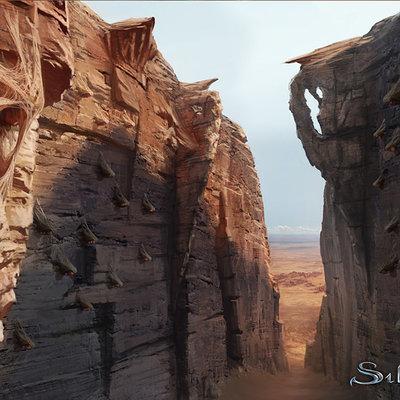 Tomasz namielski silvernai canyon of forgotten suns concept by noiprox d4eve95