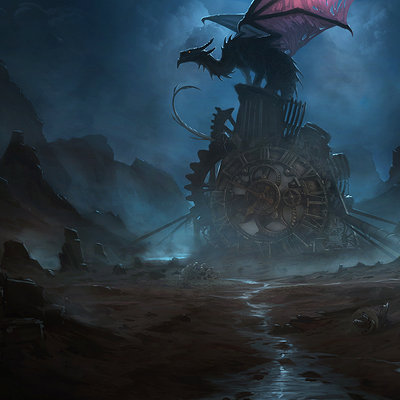 Tomasz namielski here be dragons ph dragon s nest by noiprox d5033b9