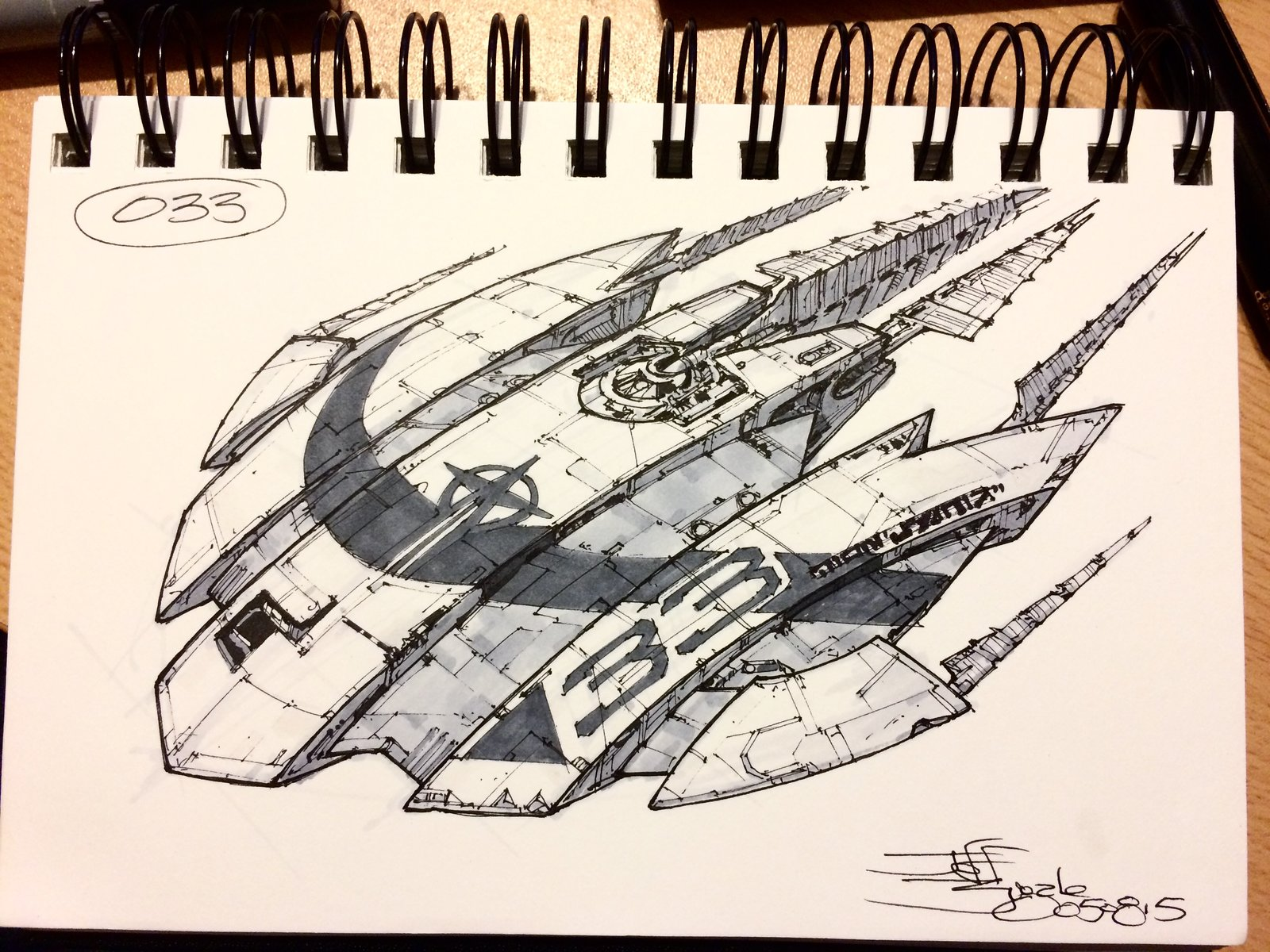 SpaceshipADay 033
