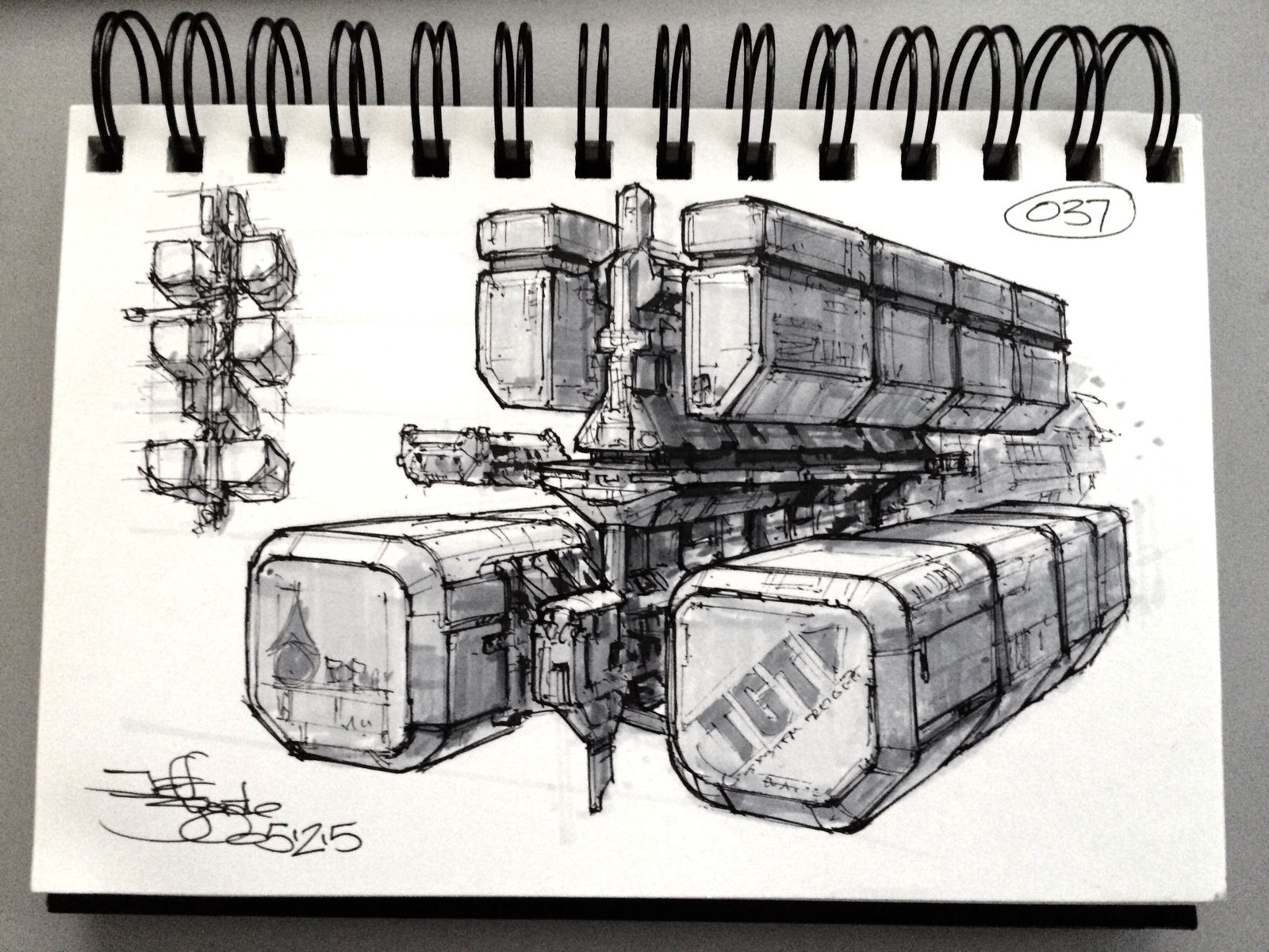 SpaceshipADay 037