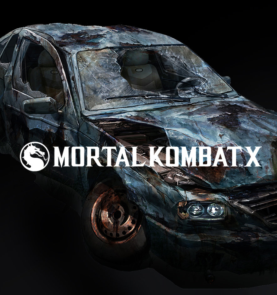 Mortal Kombat X Destroyed City