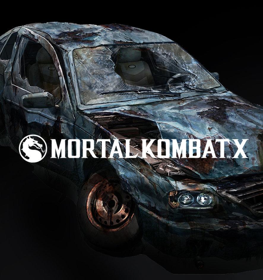 Mortal Kombat X Destroyed City