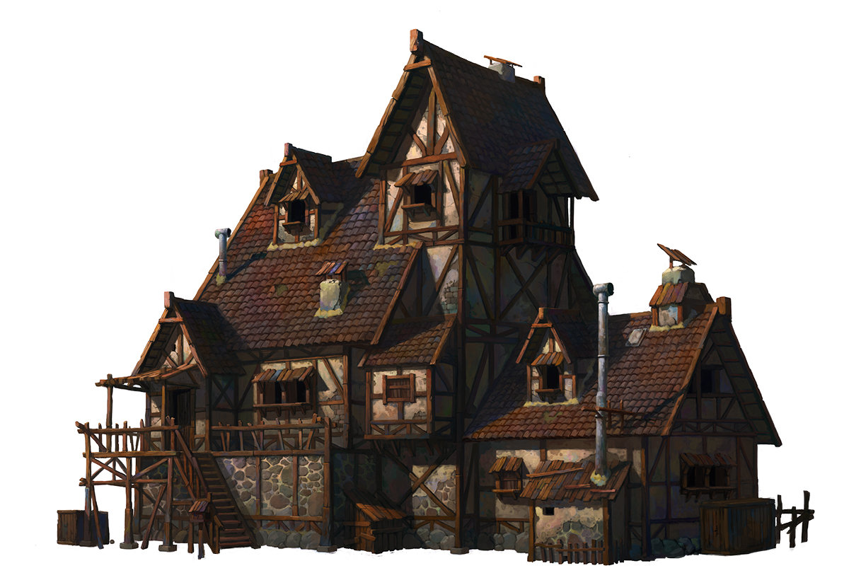 Whinbek 휜백 A Medieval House