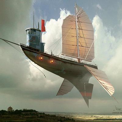 Joshua viers airshipsketch2