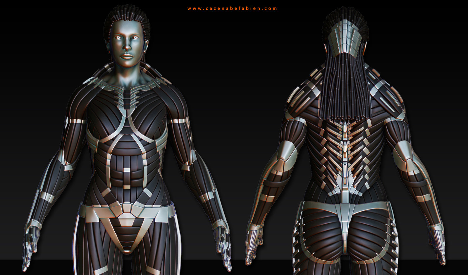 CyberSuit Woman