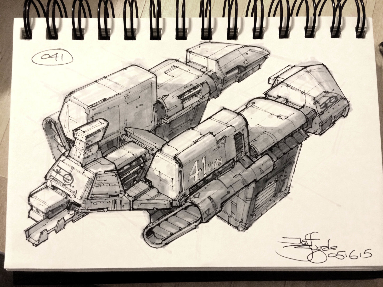 SpaceshipADay 041