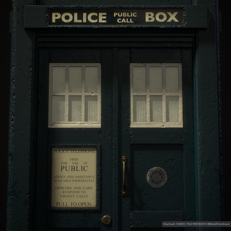 Brachacki 1963 TARDIS
