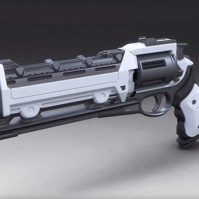 Mark van haitsma hand cannon 1d front perspective