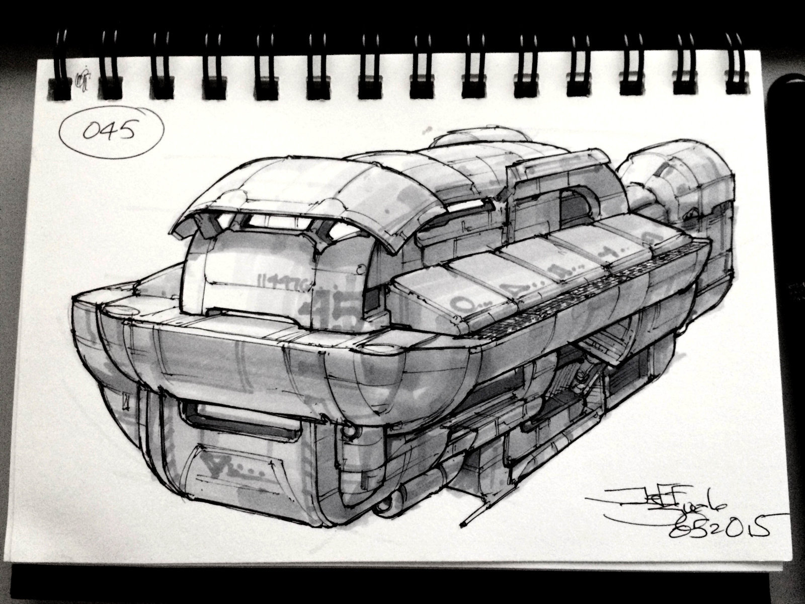 SpaceshipADay 045