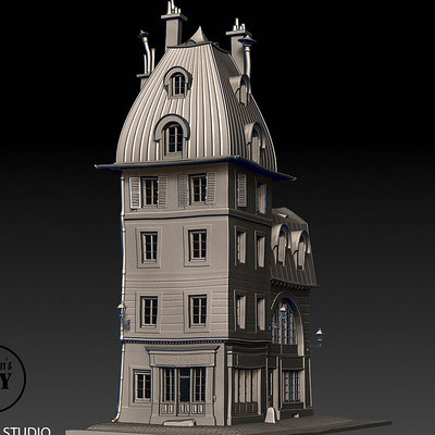 Rough sculpt for Paris 1890