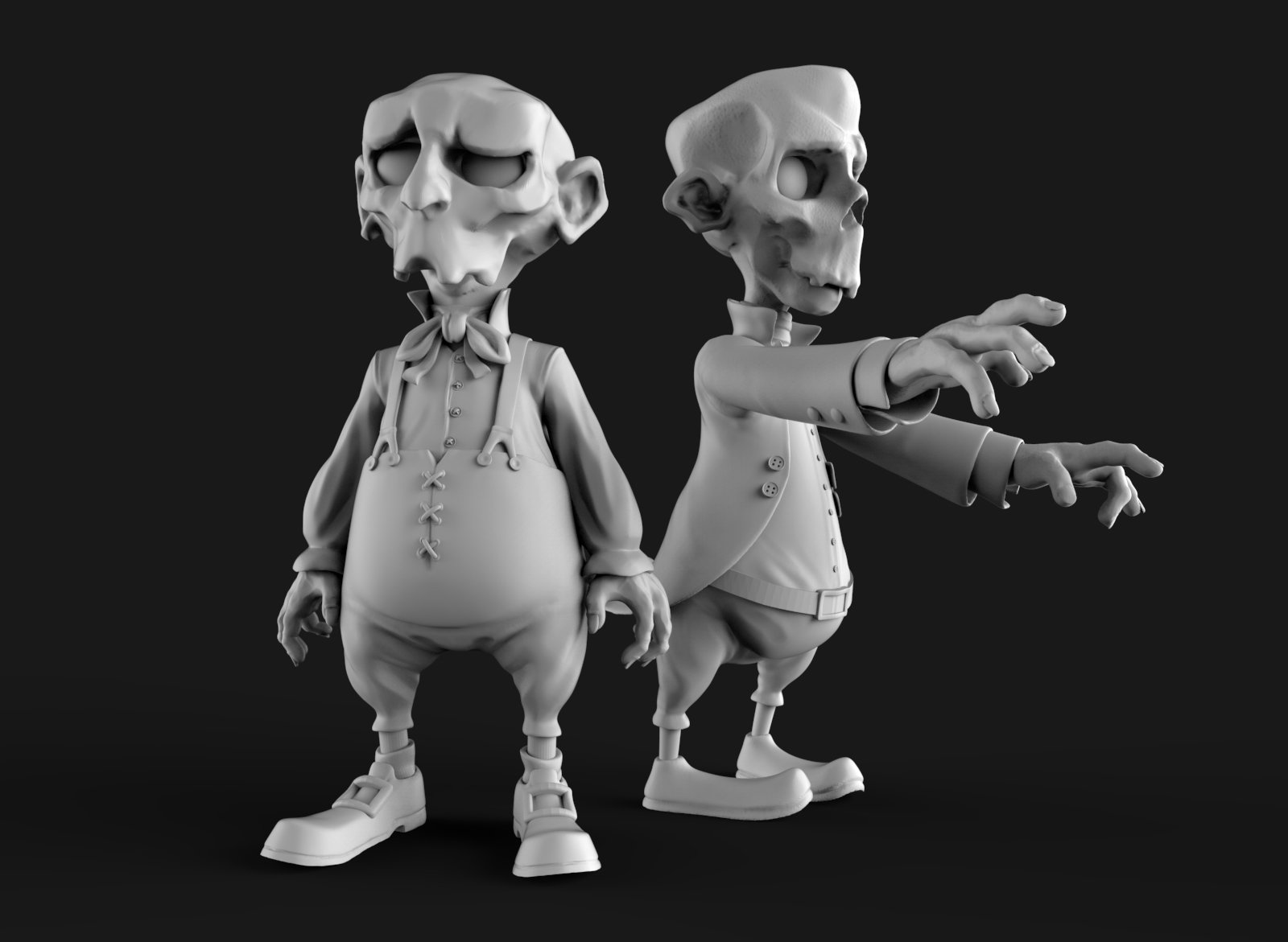Renaissance zombies