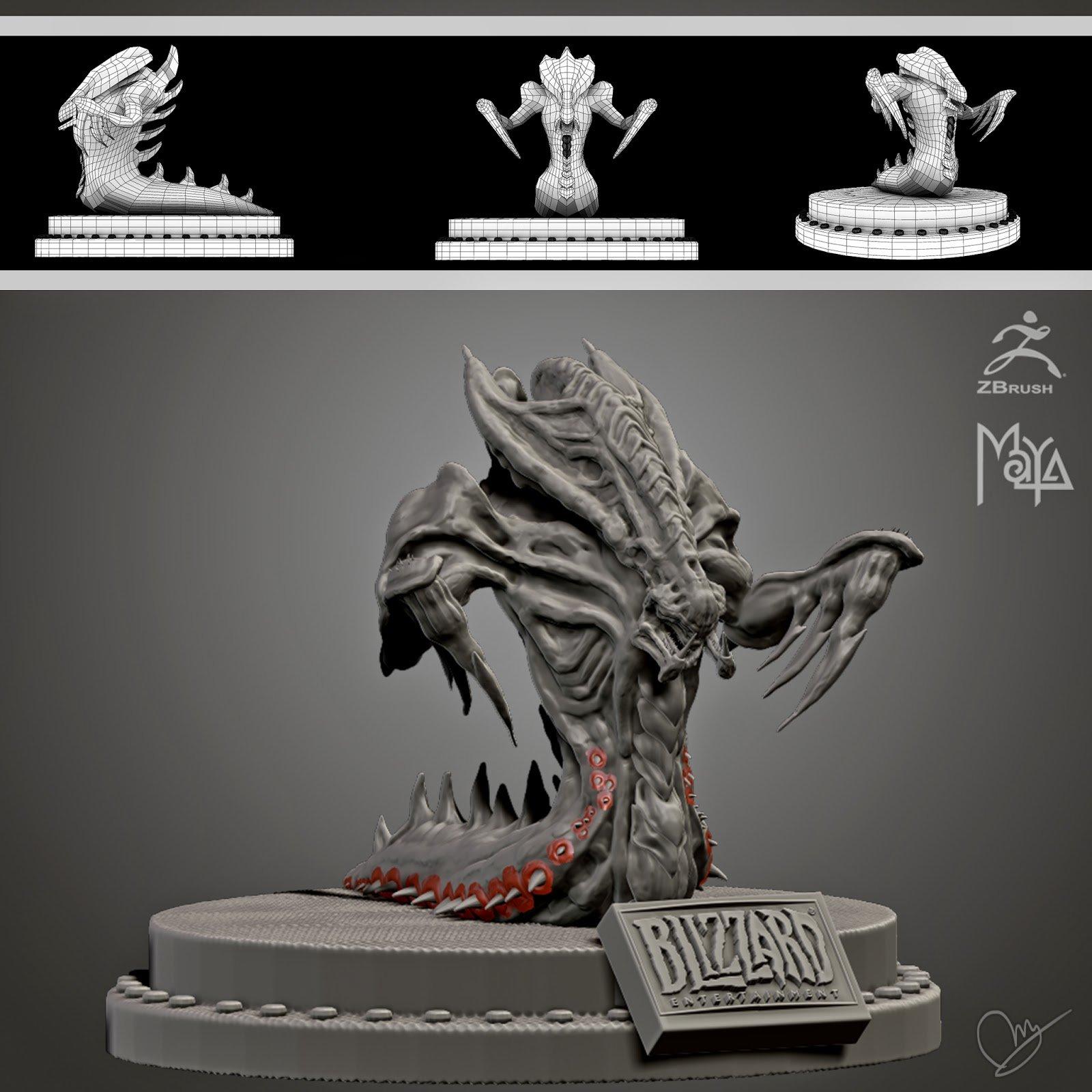 Zerg Hydralisk Fan-Art