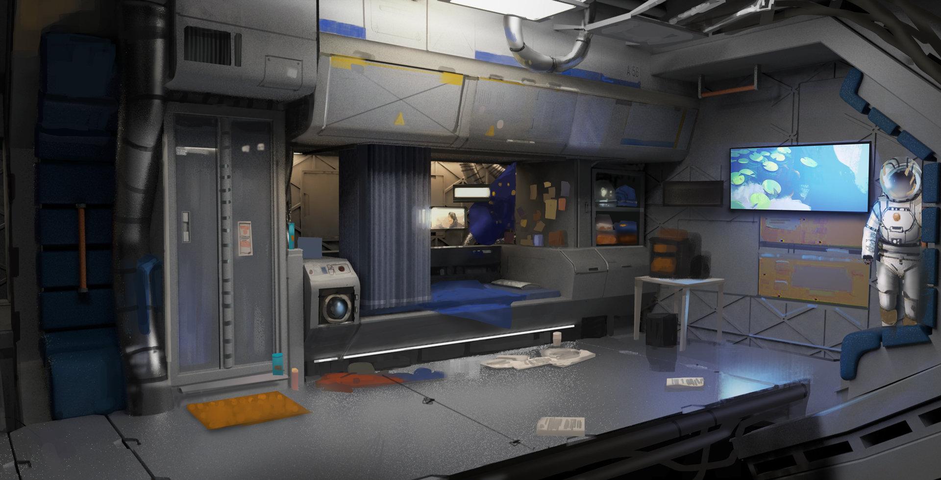 Mars Station - Cabin