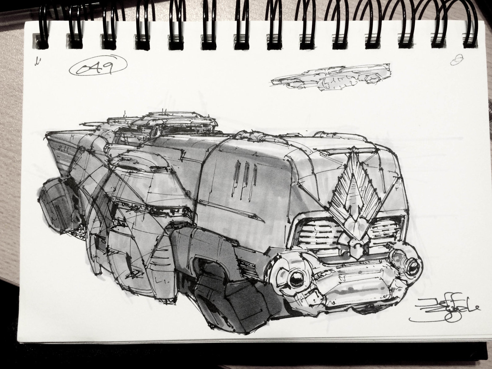 SpaceshipADay 049