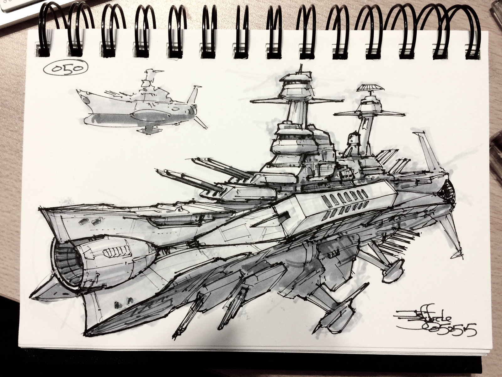 SpaceshipADay 050