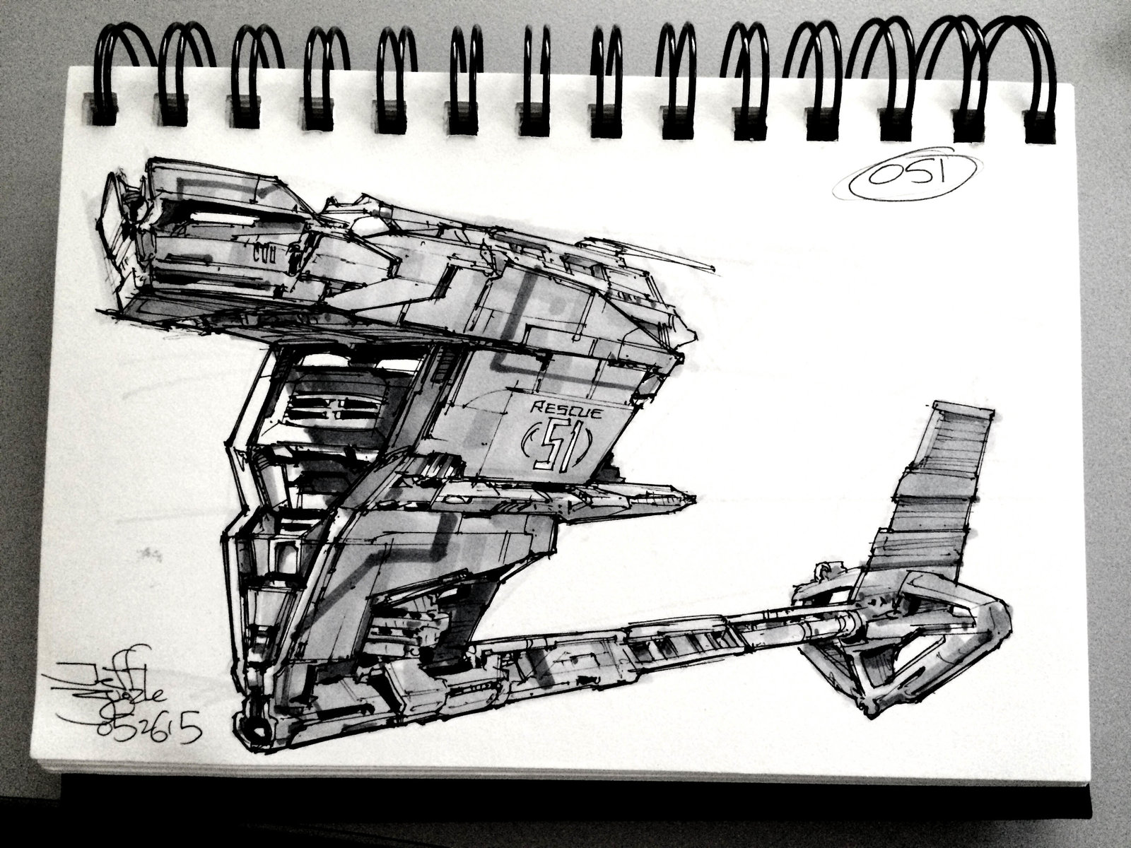SpaceshipADay 051