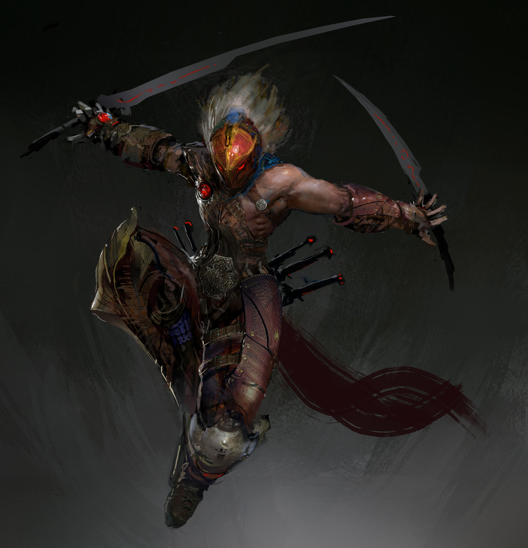 Character Concept - Slayer WIP