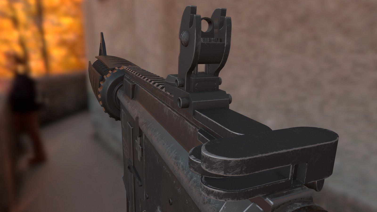 ArtStation - M4A4 CSGO - 3D model, Miguel Gonzalez