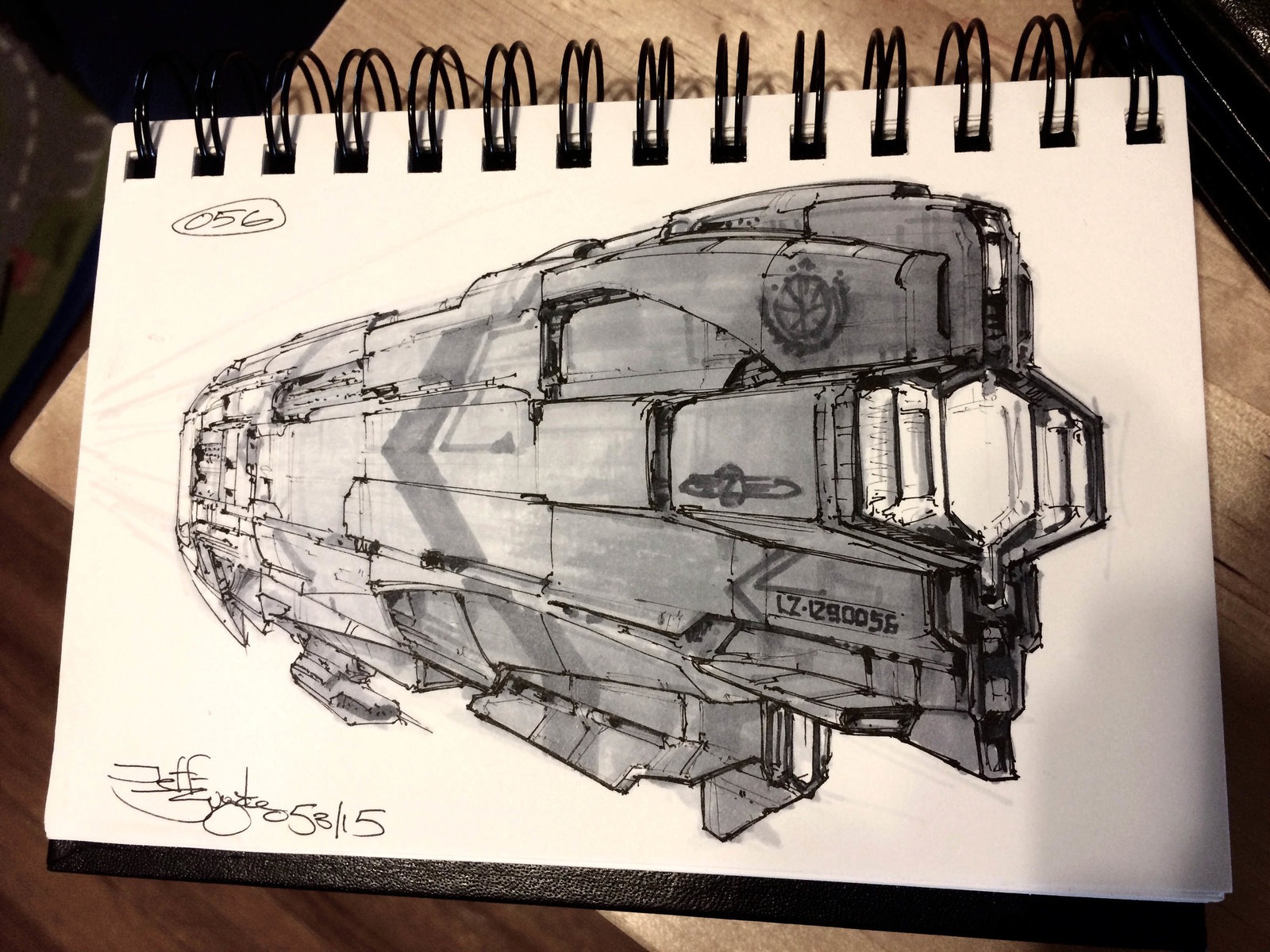 SpaceshipADay 056