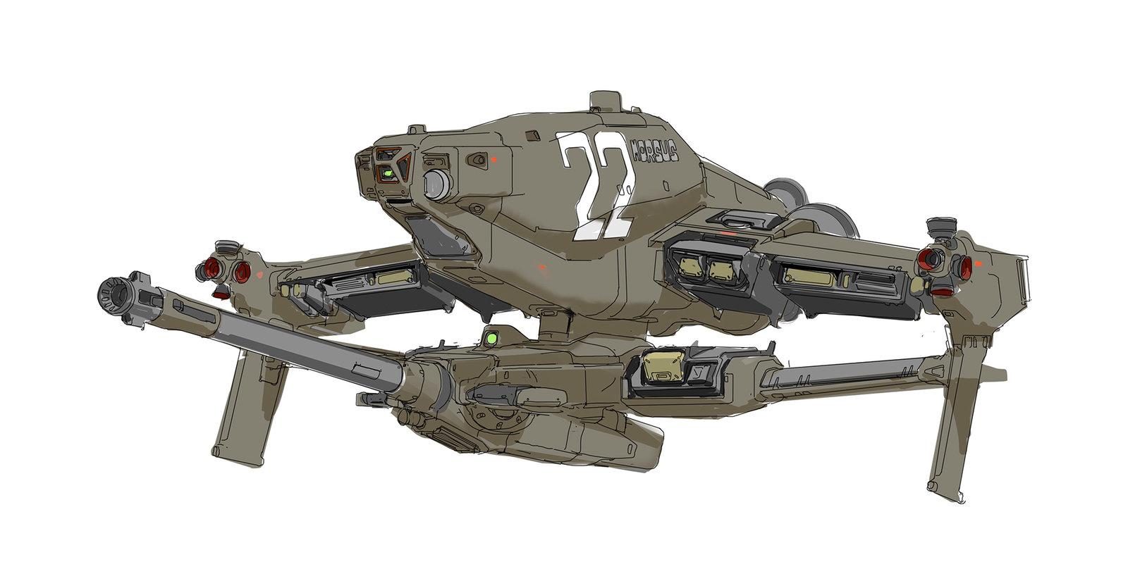 Morsus, Gunship