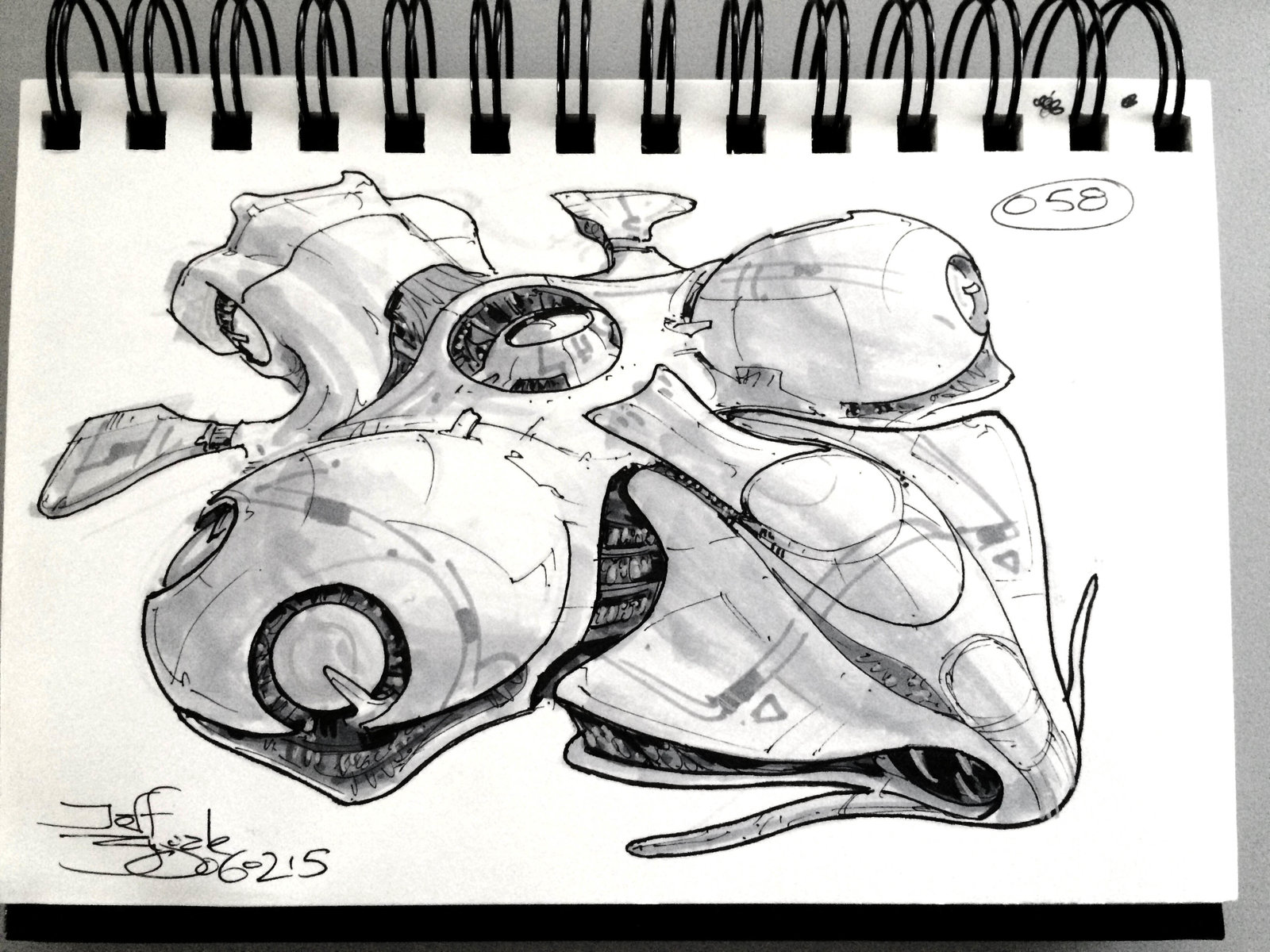SpaceshipADay 058
