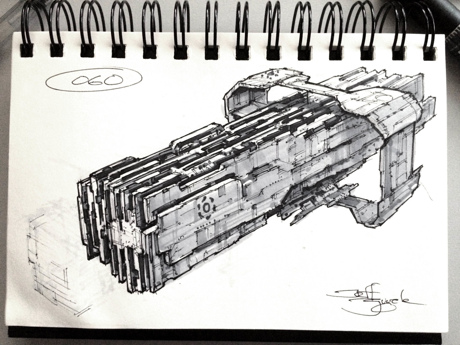 SpaceshipADay 060