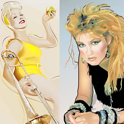K fairbanks ascyndilauper by k fairbanks