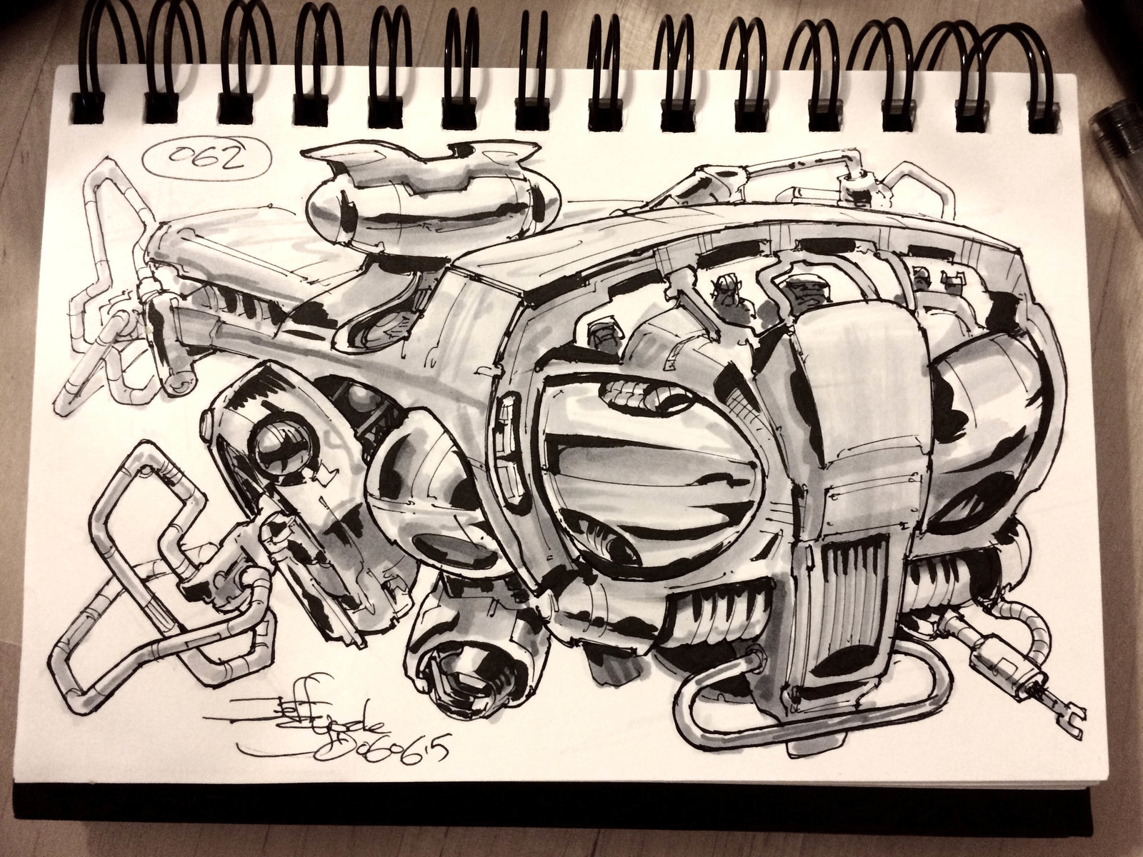 SpaceshipADay 062