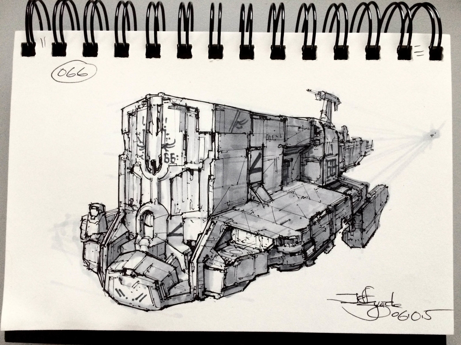 SpaceshipADay 066