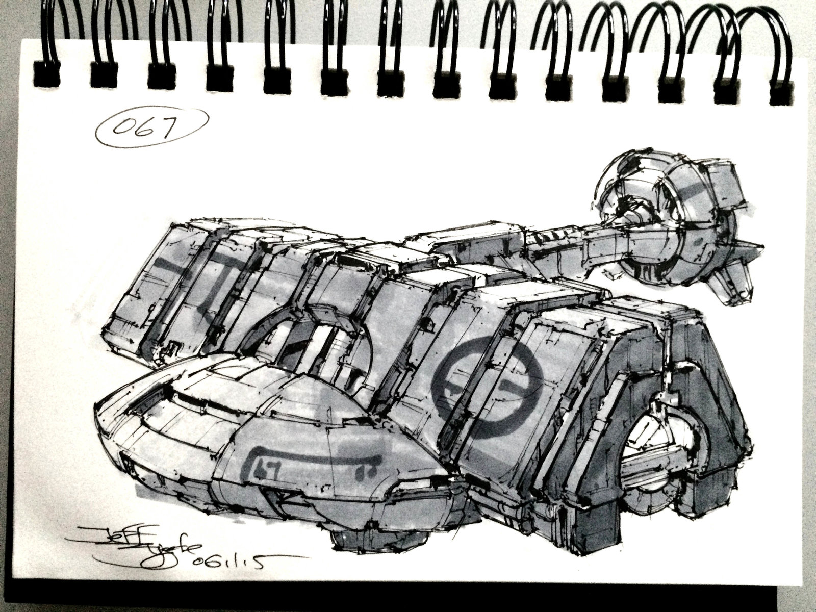 SpaceshipADay 067