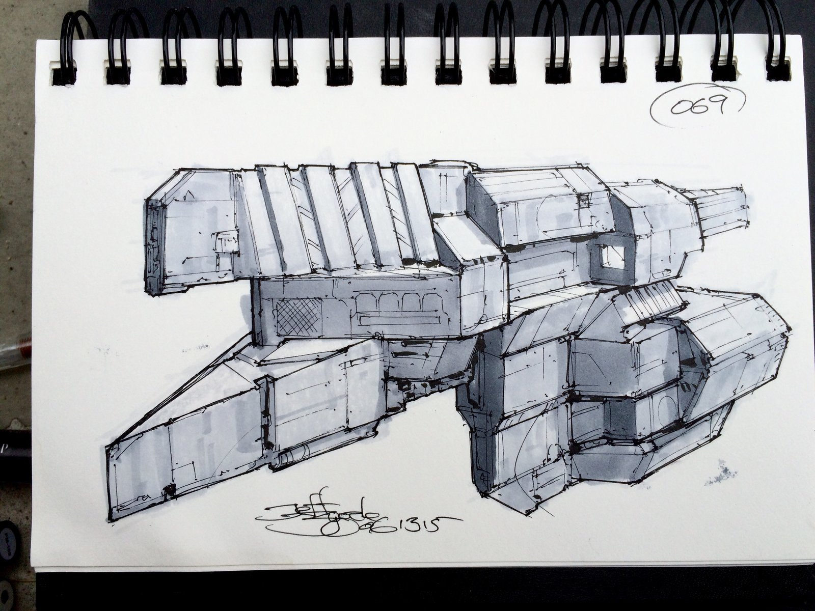 SpaceshipADay 069