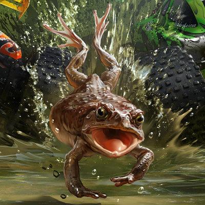 Sviatoslav gerasimchuk toad racing