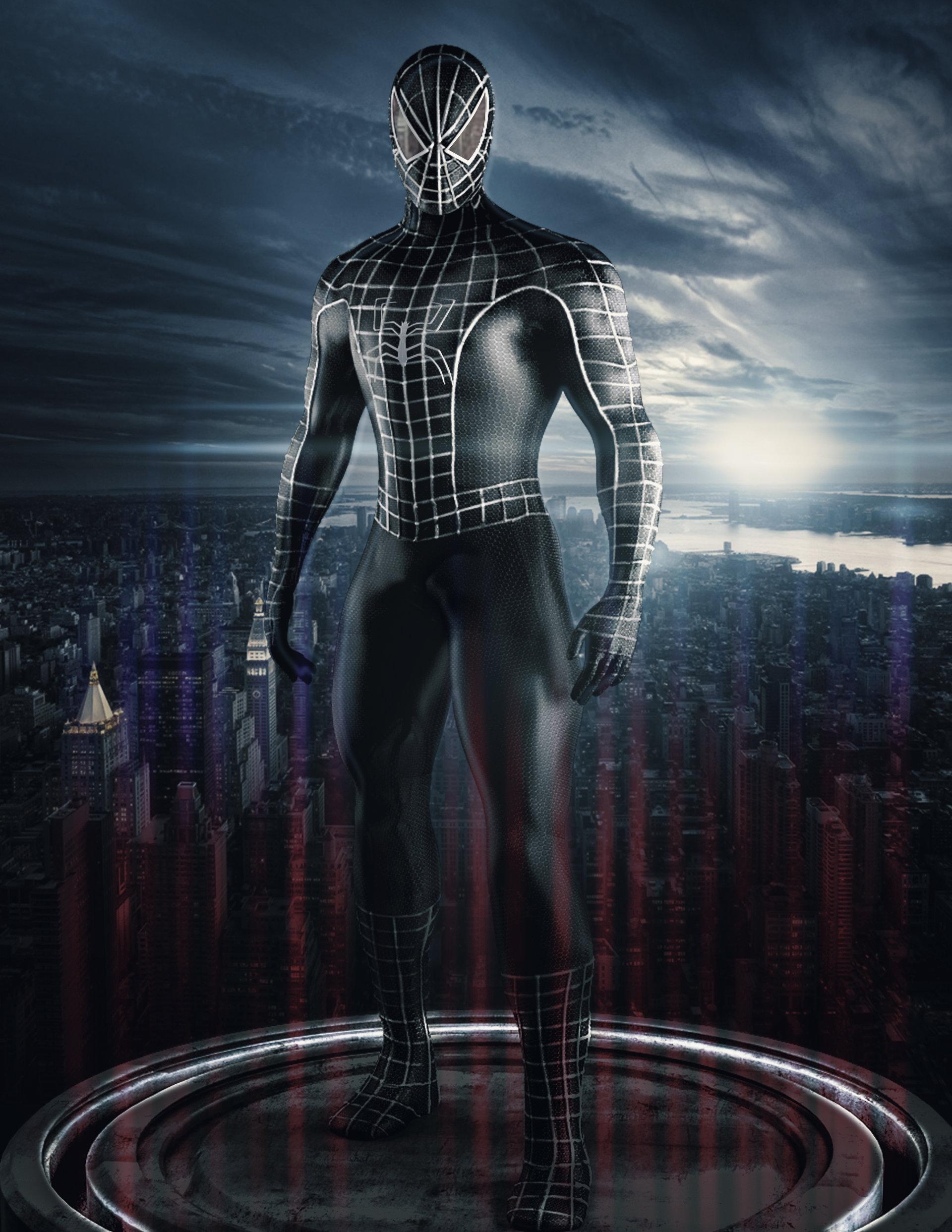 sunil gautam - Black spiderman