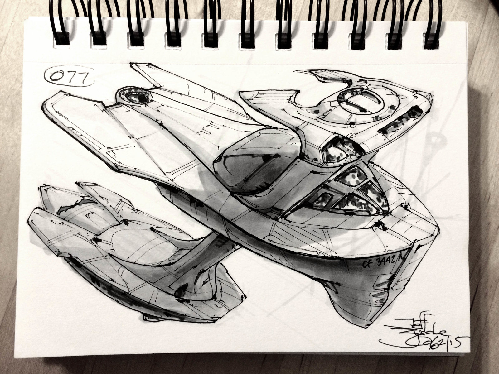 SpaceshipADay 077
