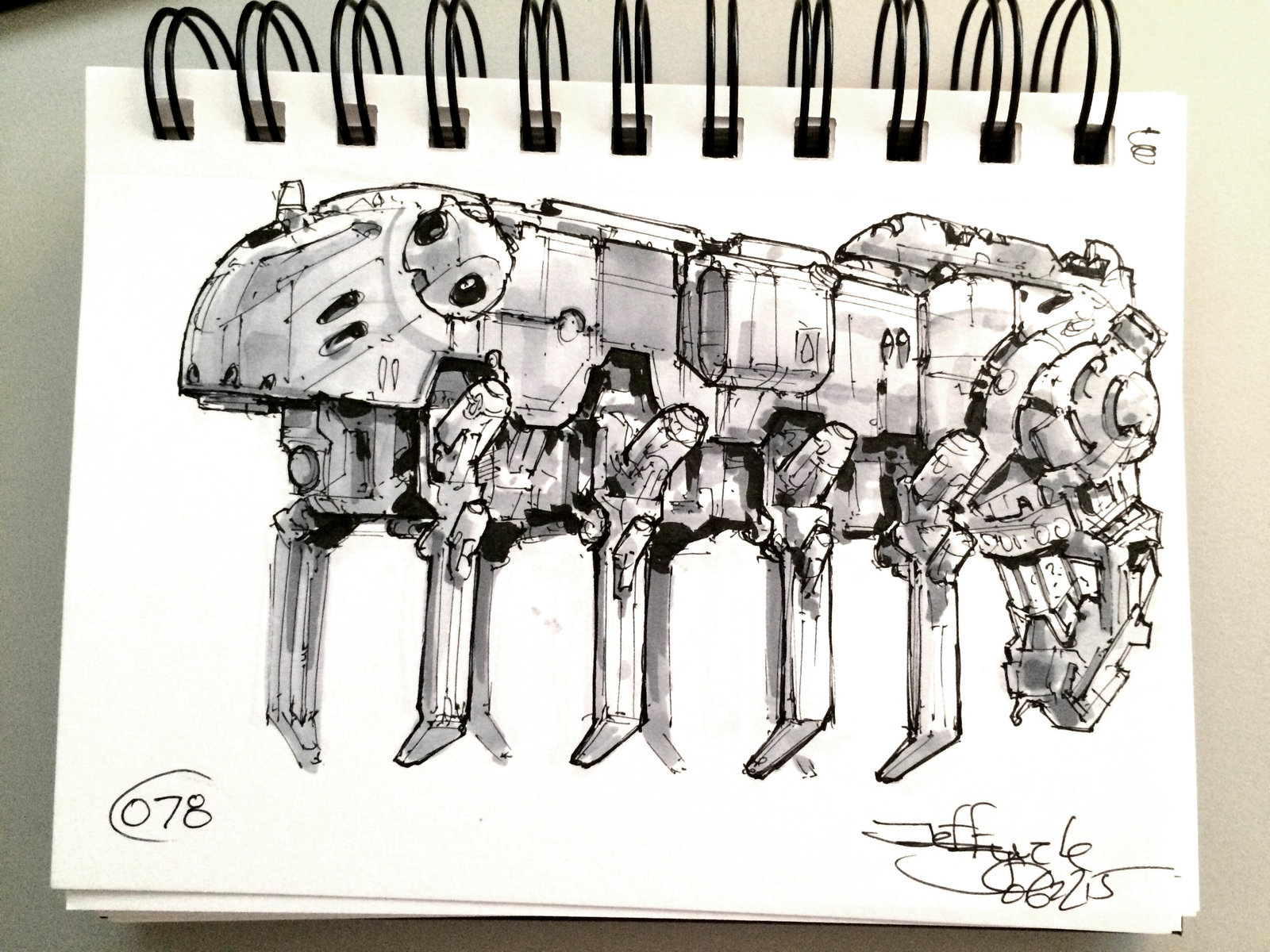 SpaceshipADay 078