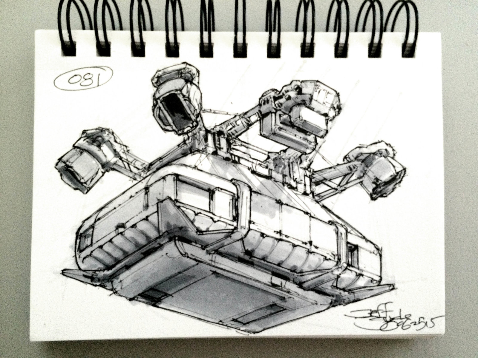 SpaceshipADay 081