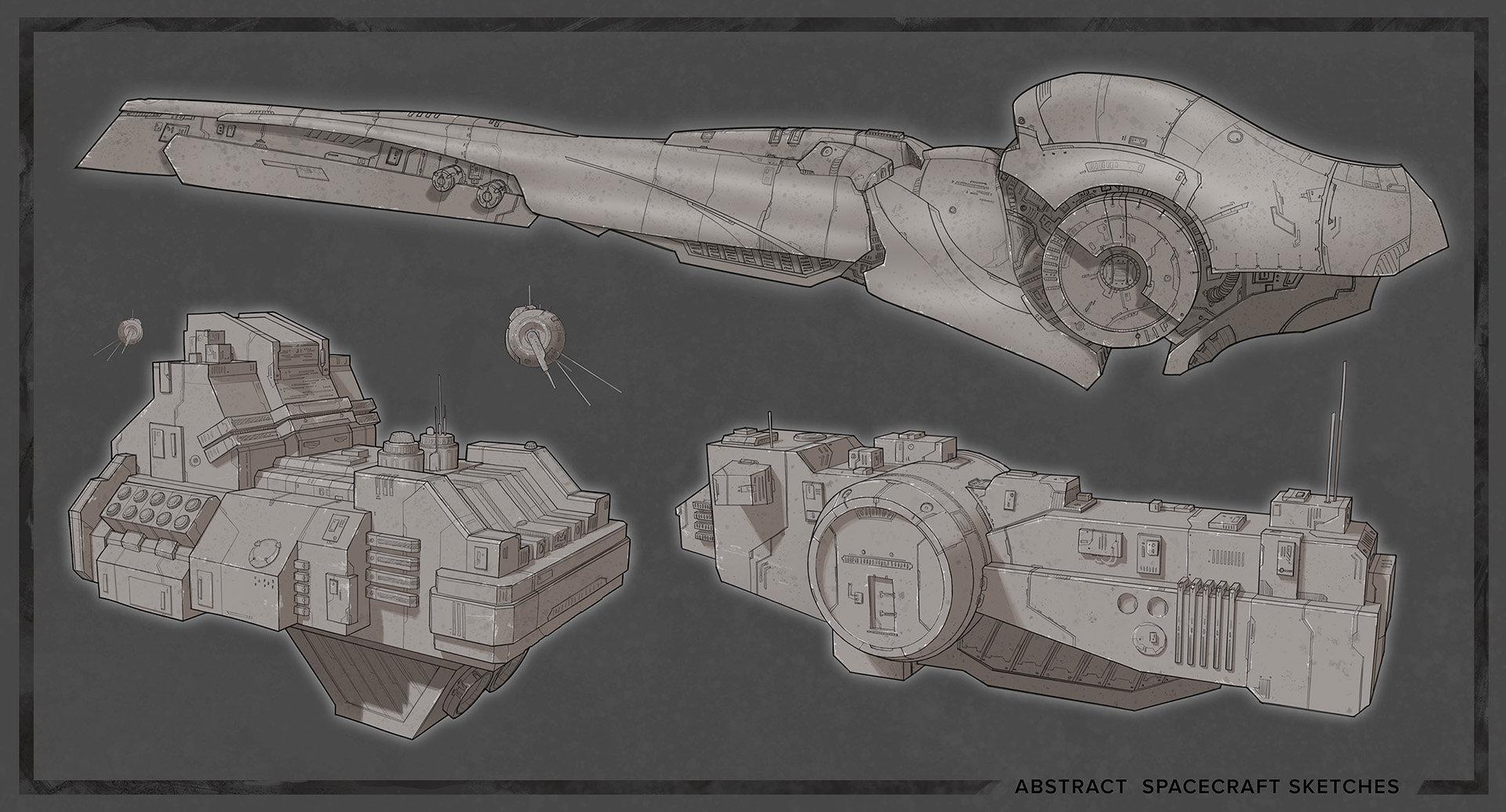 amazoncom blast spaceship sketches and renderings - HD1920×1036