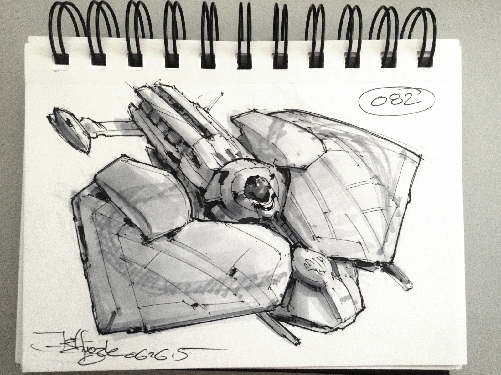 SpaceshipADay 082