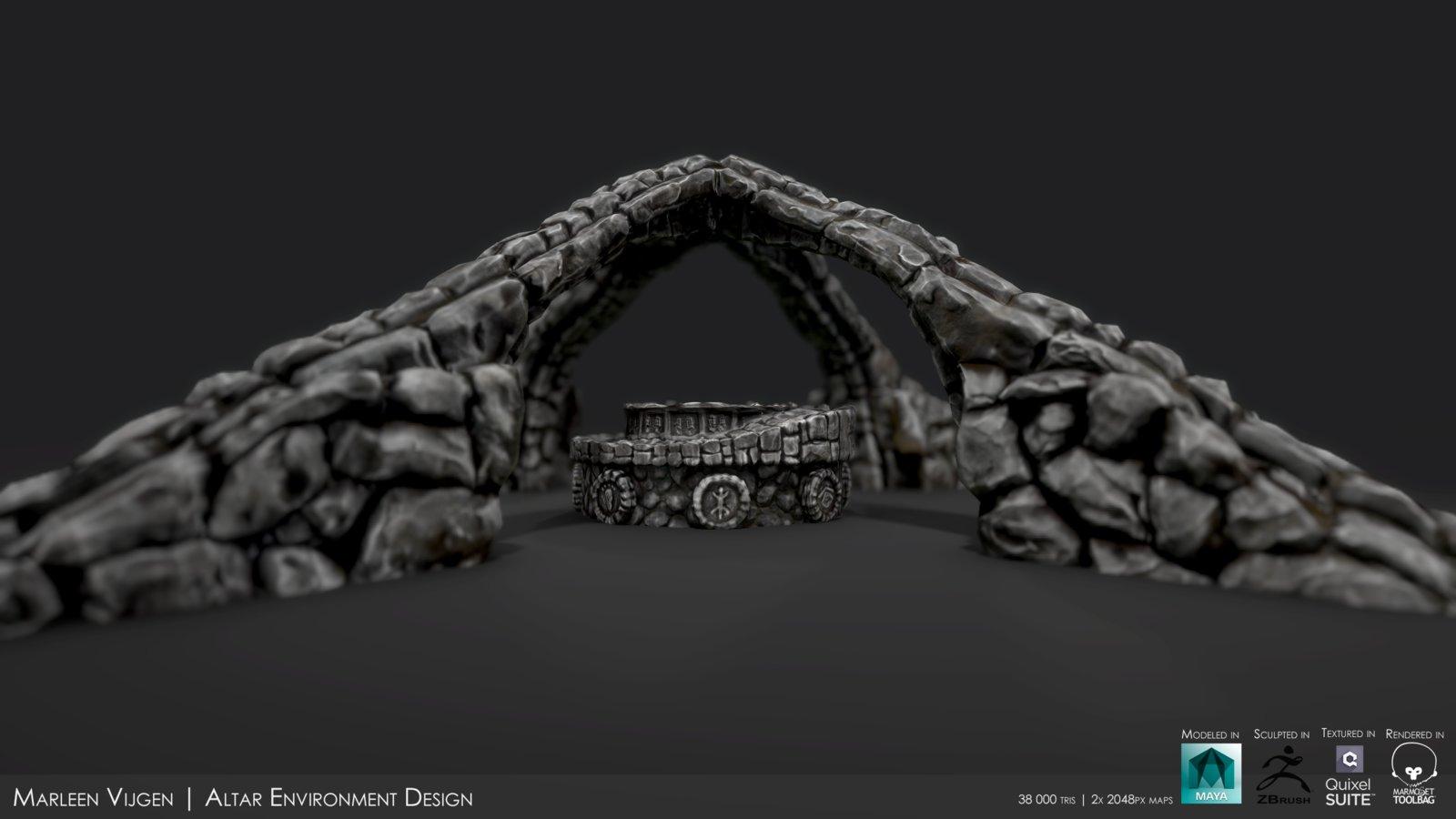 Earth-Altar Environment Design