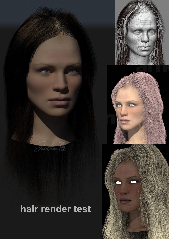 XSI hair