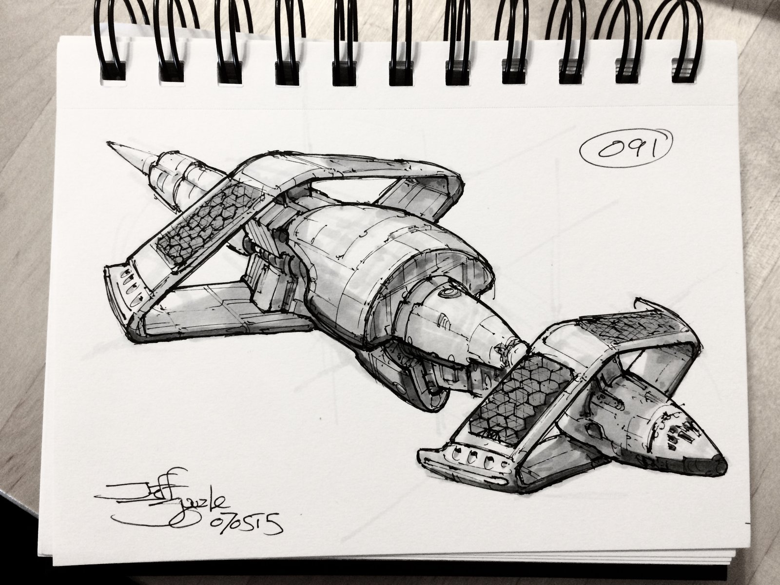 SpaceshipADay 091