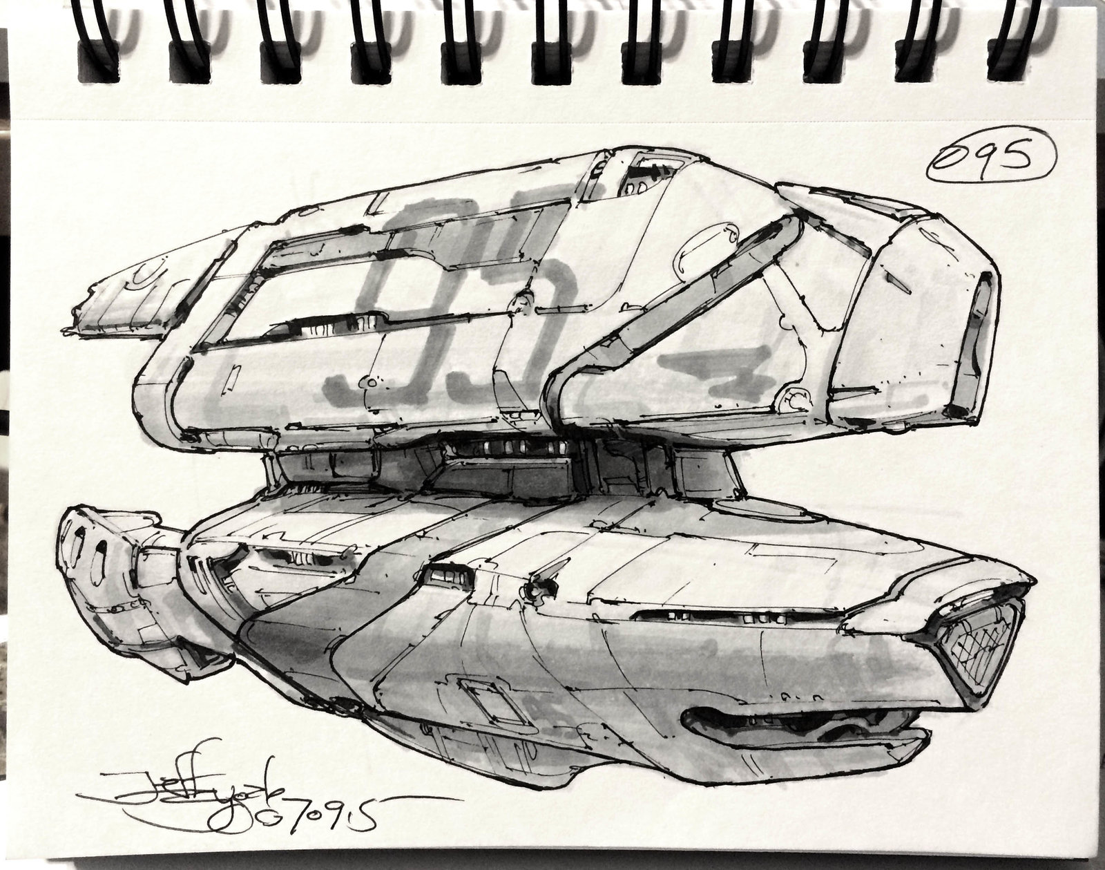 SpaceshipADay 095