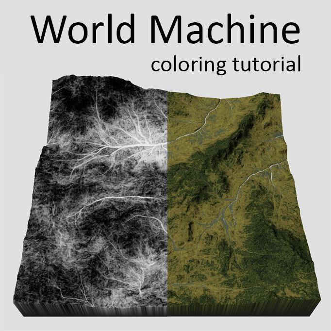 ArtStation - World Machine - Texturing tutorial, Iri Shinsoj