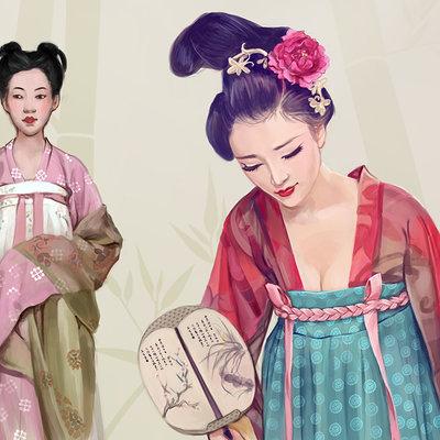 Lesta danica tang dynasty costume study
