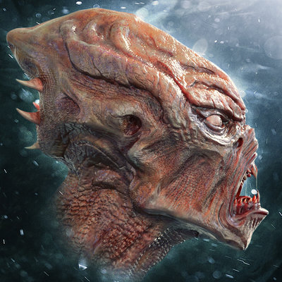 Paul massey alien sculpt a
