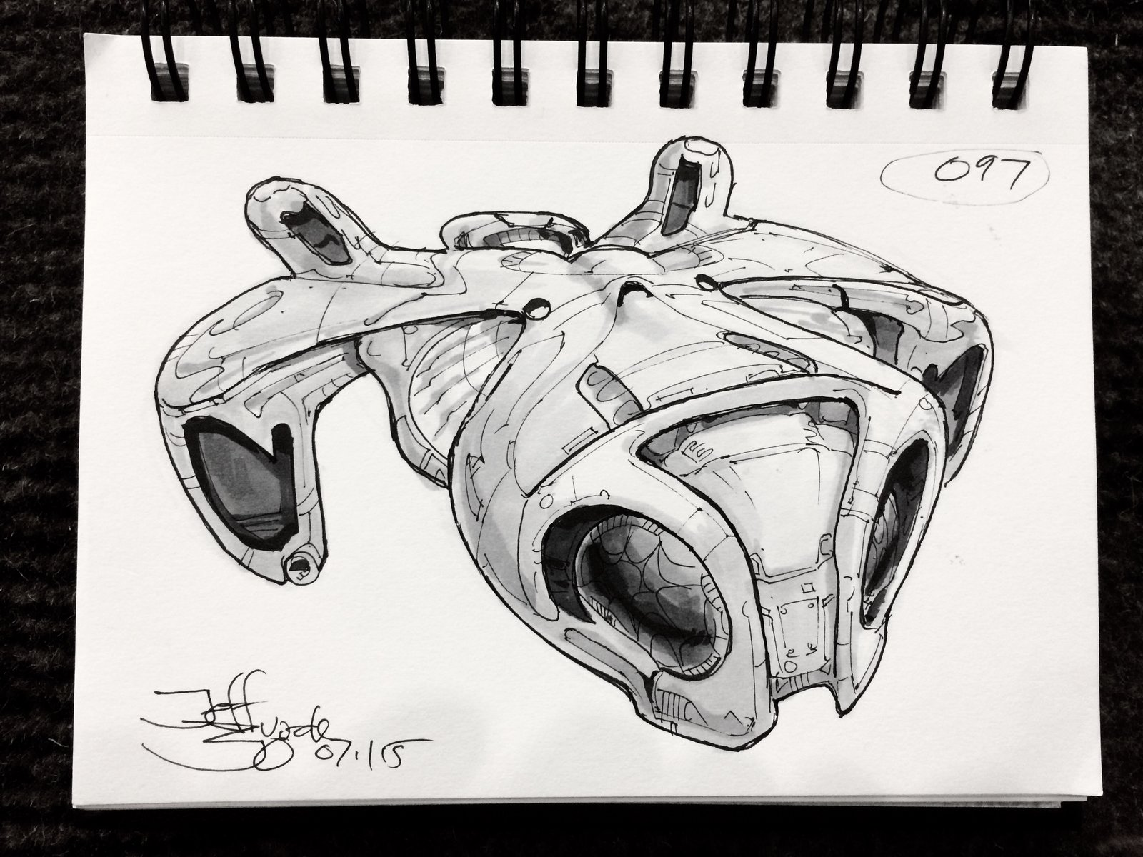 SpaceshipADay 097